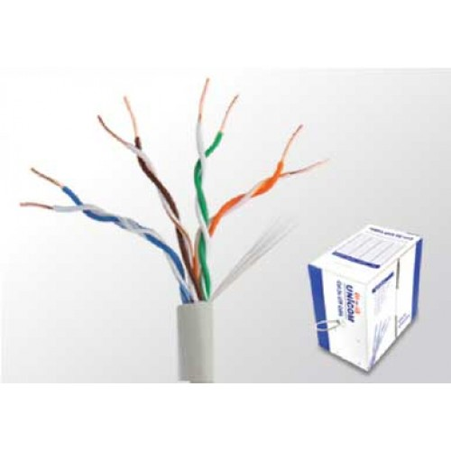 کابل شبکه یونیکام Network Cable cat5e UTP unicom - cat5e UTP